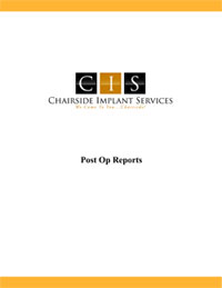 CIS Post Op Reports 2016 th